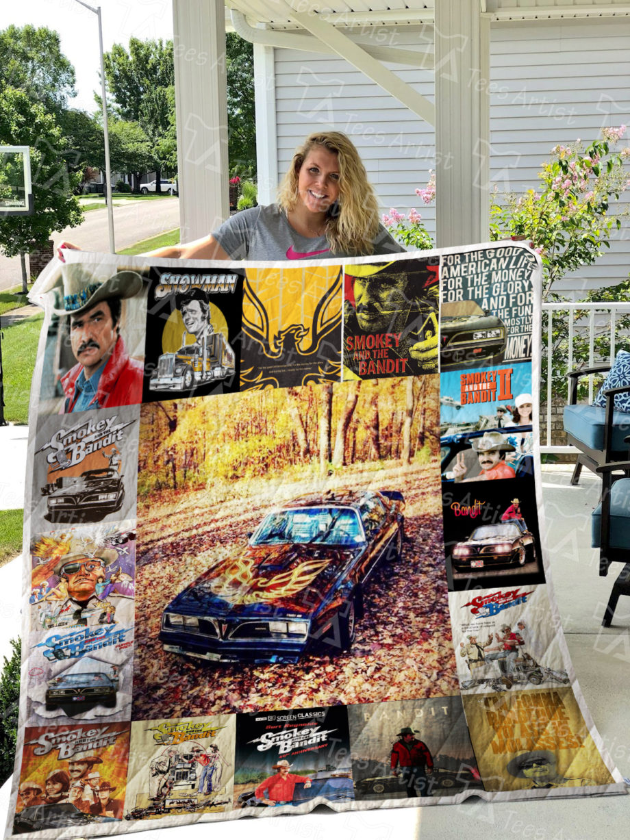 Smokey And The Bandit Quilt Blanket 0370
