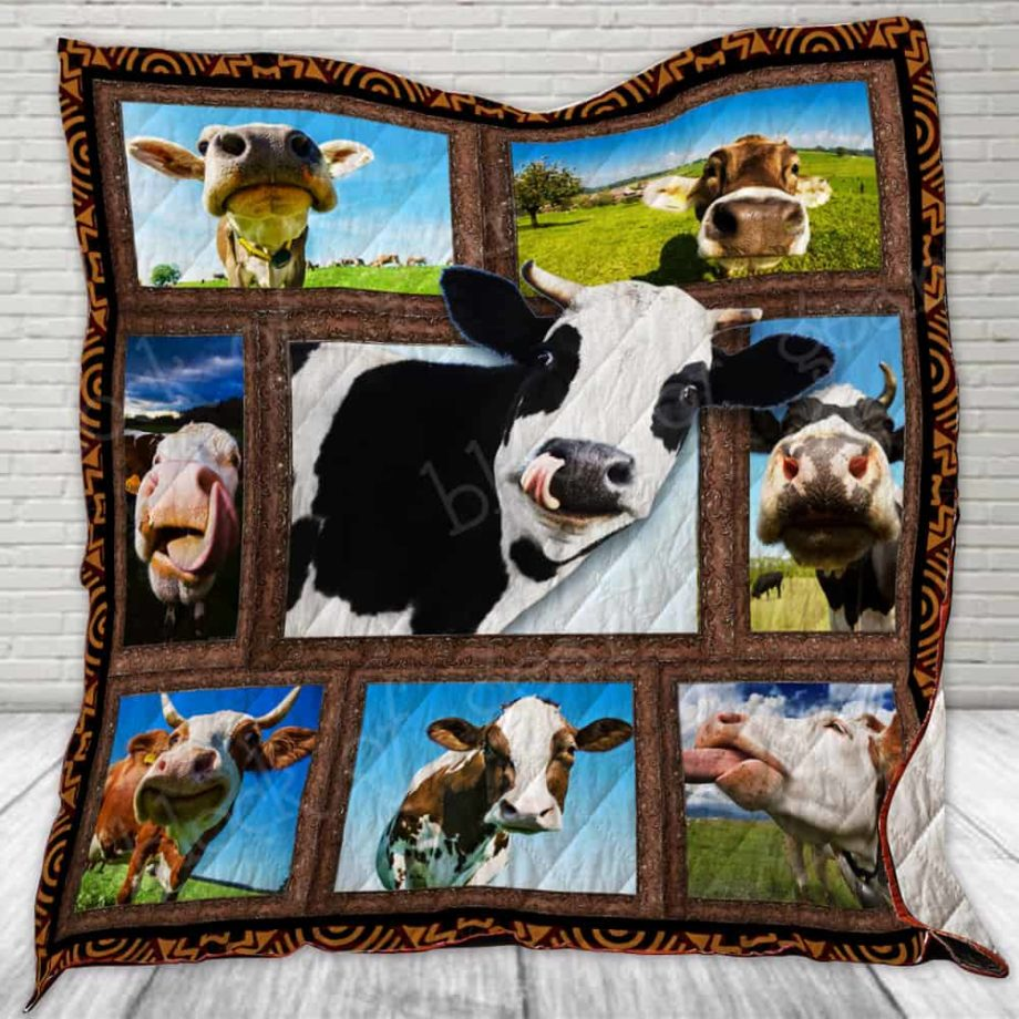 Funny Cow Quilt KPW499 KP-25