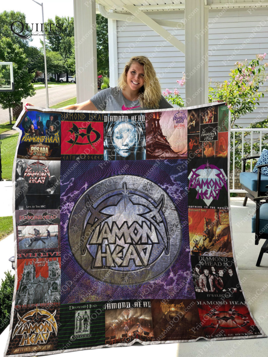 Diamond Head Band Albums Quilt Blanket For Fans Ver 17 KP-151