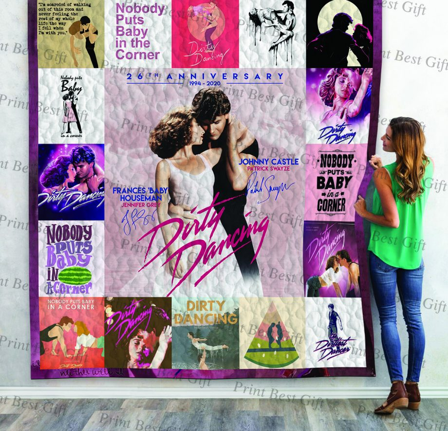 Dirty Dancing Poster Quilt Ver 2