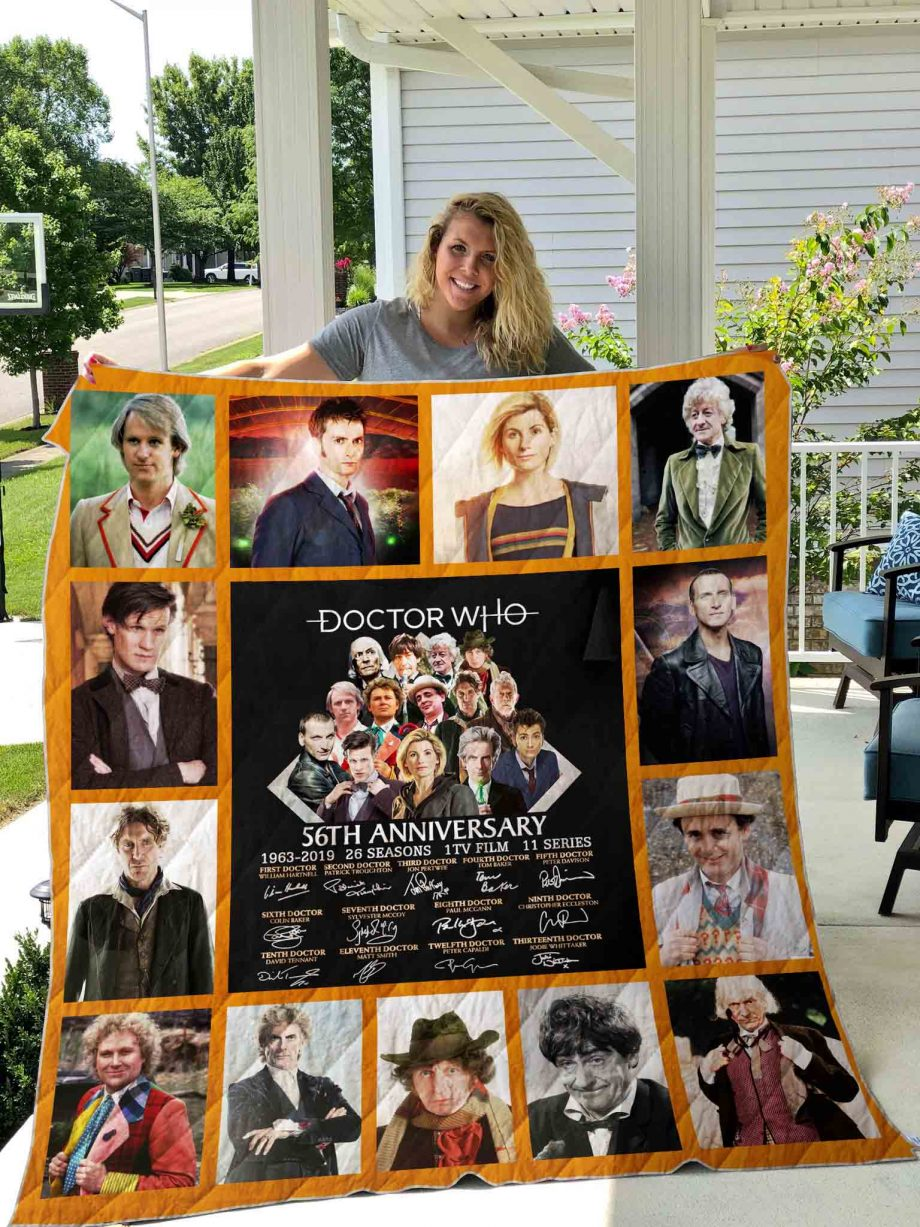 Doctor Who Quilt Blanket 02