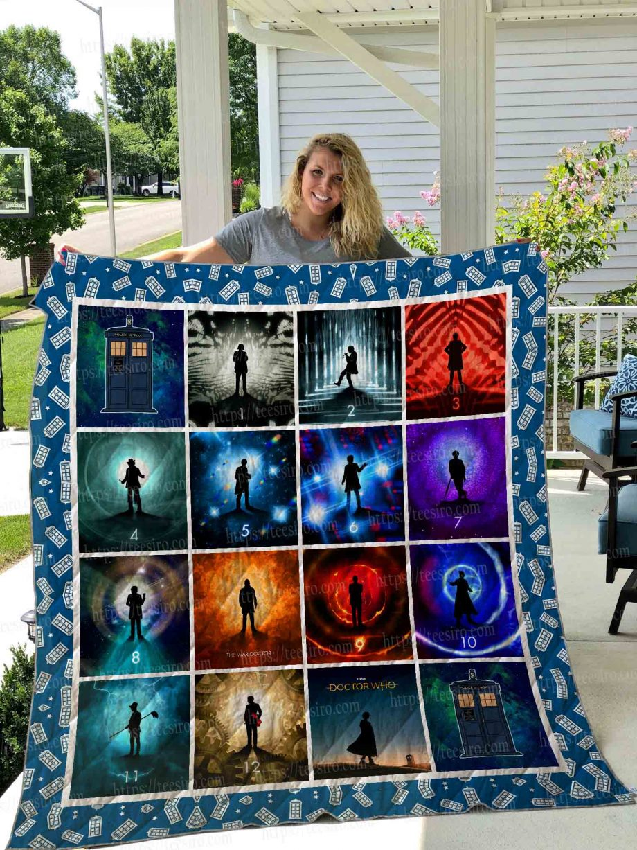 Doctor Who Quilt Blanket 05