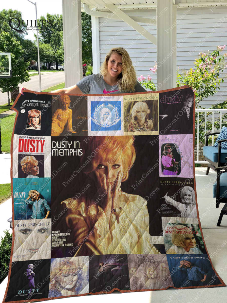 Dusty Springfield Albums Quilt Blanket For Fans Ver 17 KP-159