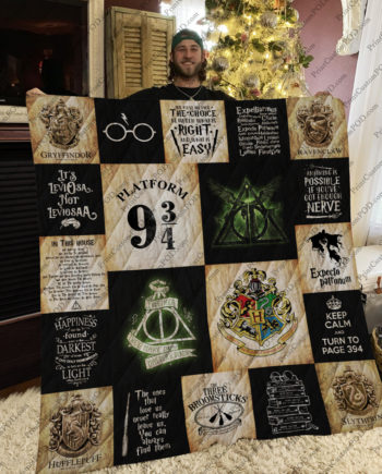 [pe] Harry Potter Quilt Blanket Ver 20 KP-384