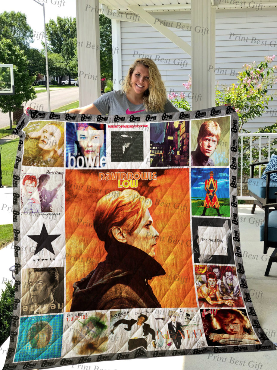 David Bowie Albums Cover Poster Quilt