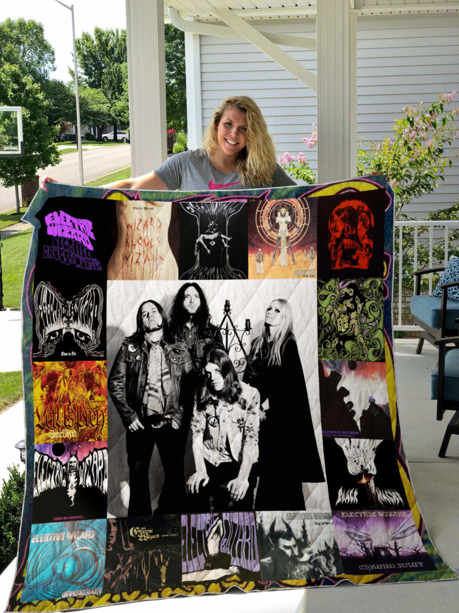 Electric Wizard Albums Cover Poster Quilt