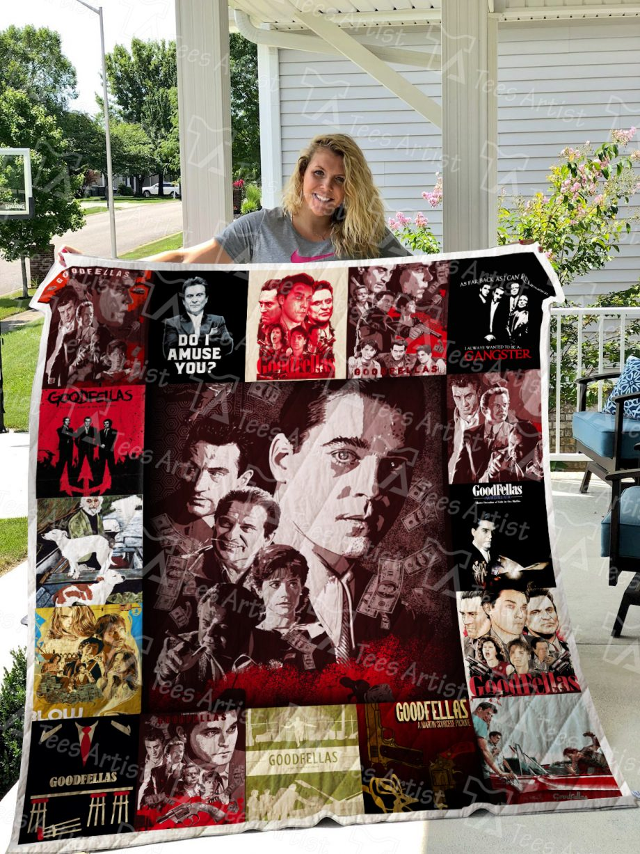 Goodfellas Quilt Blanket 0382