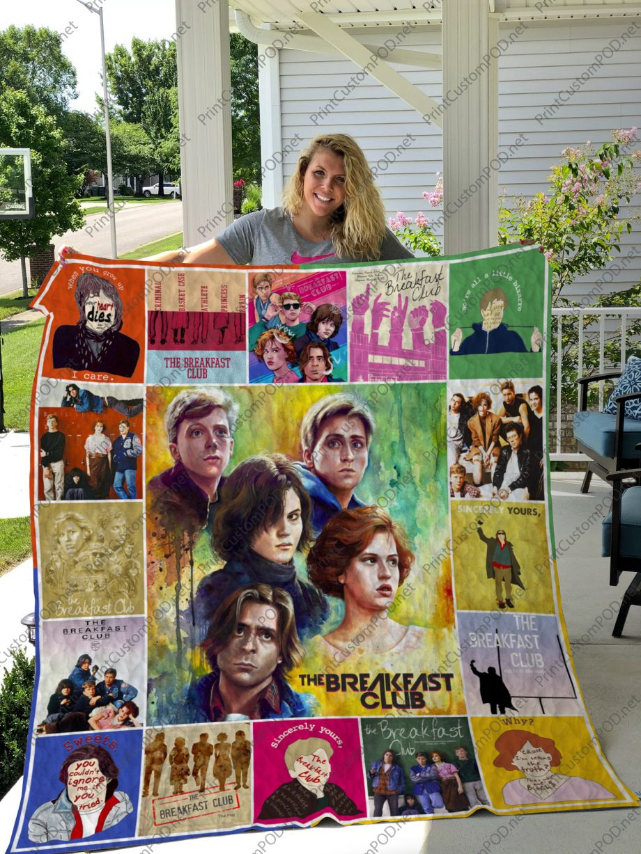 H The Breakfast Club Quilt Blanket