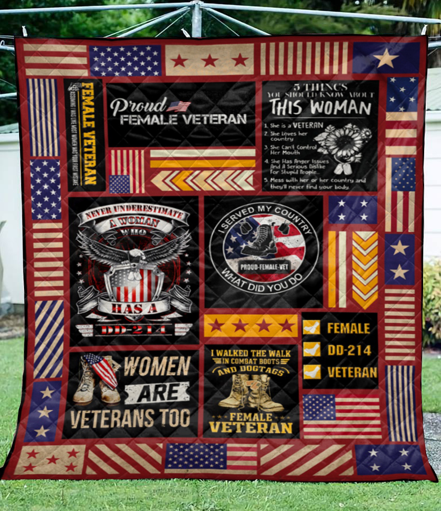 Female Veteran Quilt0489