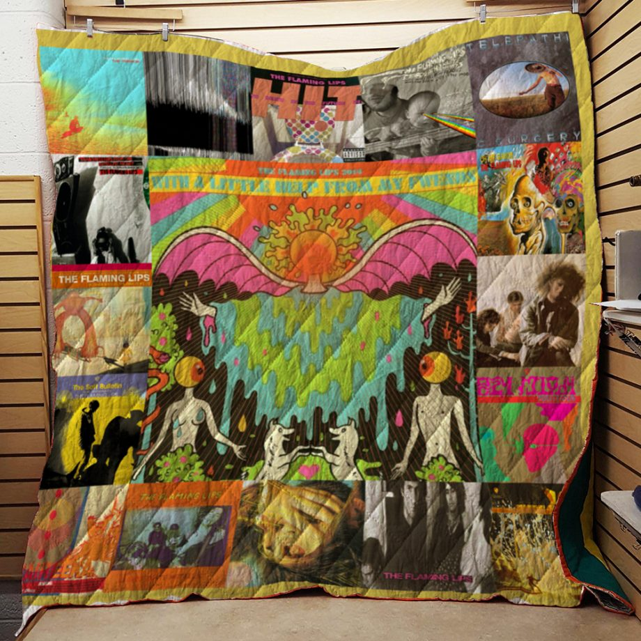 Flaming Lips Quilt Blanket New Arrival