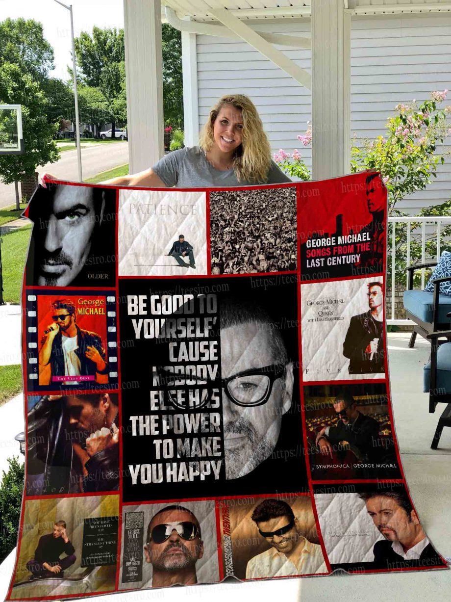 George Michael Quilt Blanket 02