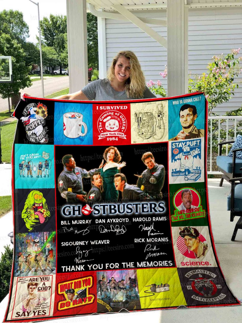 GHOSTBUSTERS Quilt Blanket 01