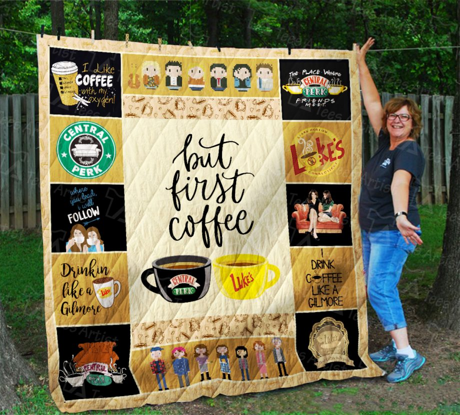 Gimore And Friends Quilt Blanket 01870