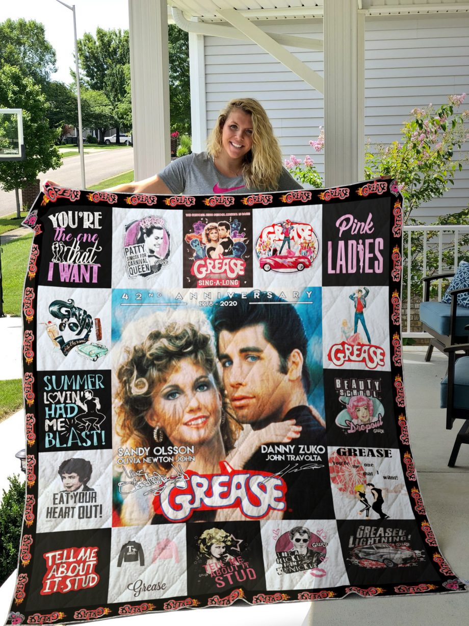 Grease Poster Quilt