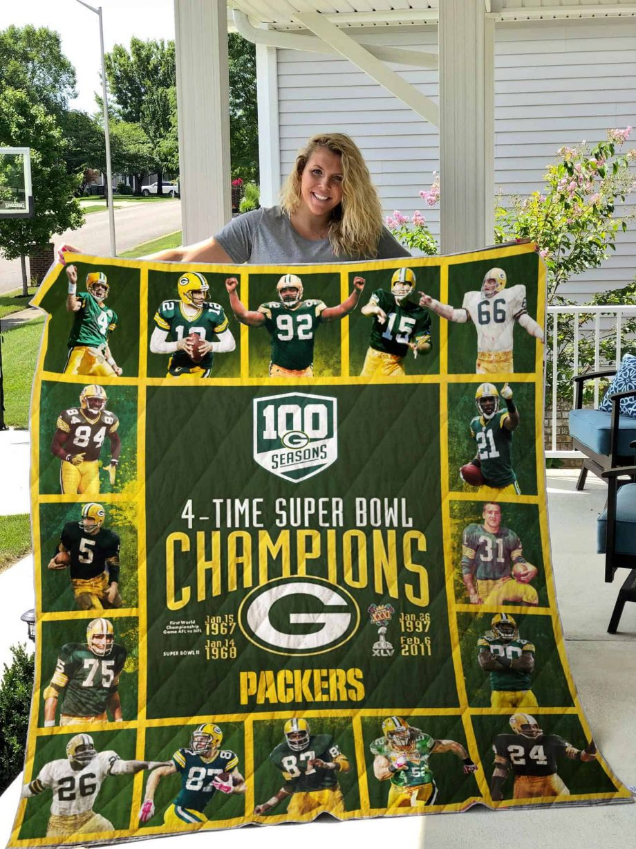 Green Bay Packers Quilt