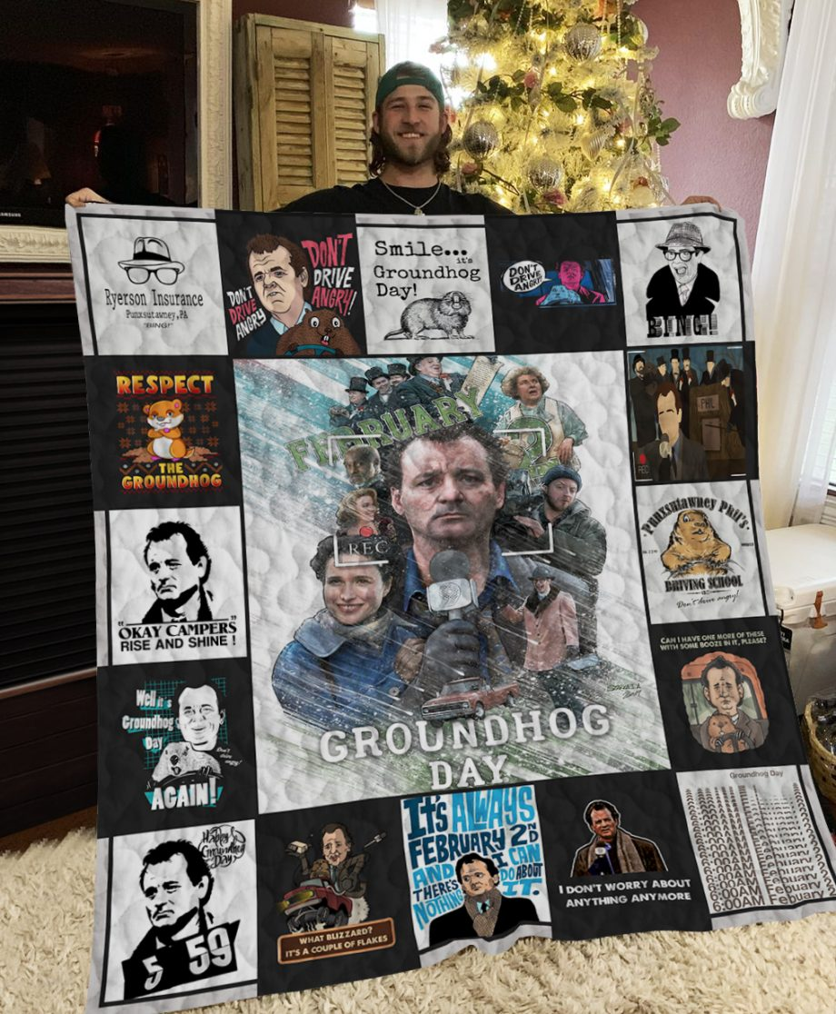 Groundhog Day Poster Quilt