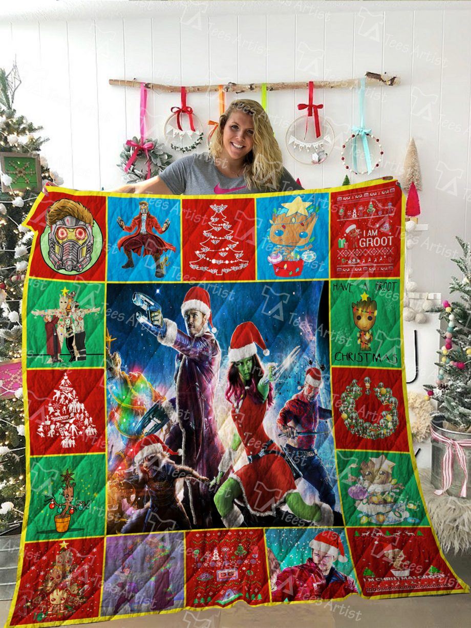 Guardians of the Galaxy Quilt Blanket 02005