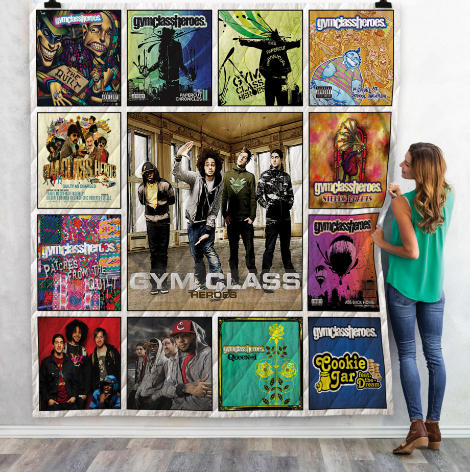 Gym Class Heroes Albums Quilt Blanket Ver13