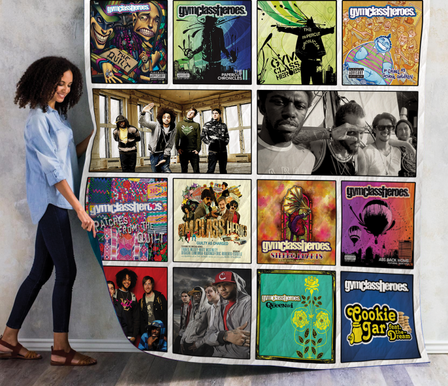 Gym Class Heroes Albums Quilt Blanket Ver14
