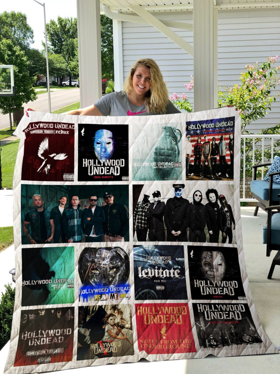 Hollywood Undead Quilt Blanket 02