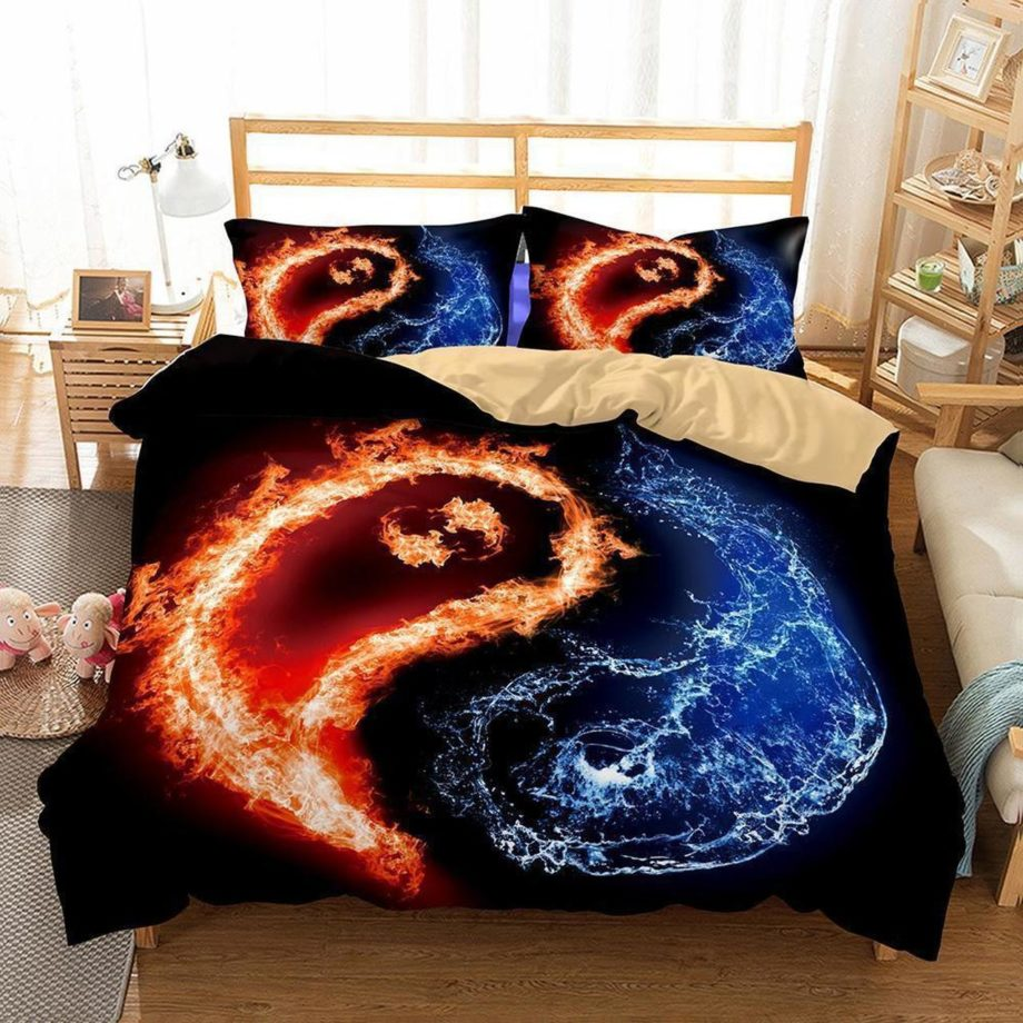 Home Decor Print Bedroom Yin And Yang Tai Chi Theme Quilt Covers3D Customize Bedding Set Duvet Cover Setbedroom Set Bedlinen