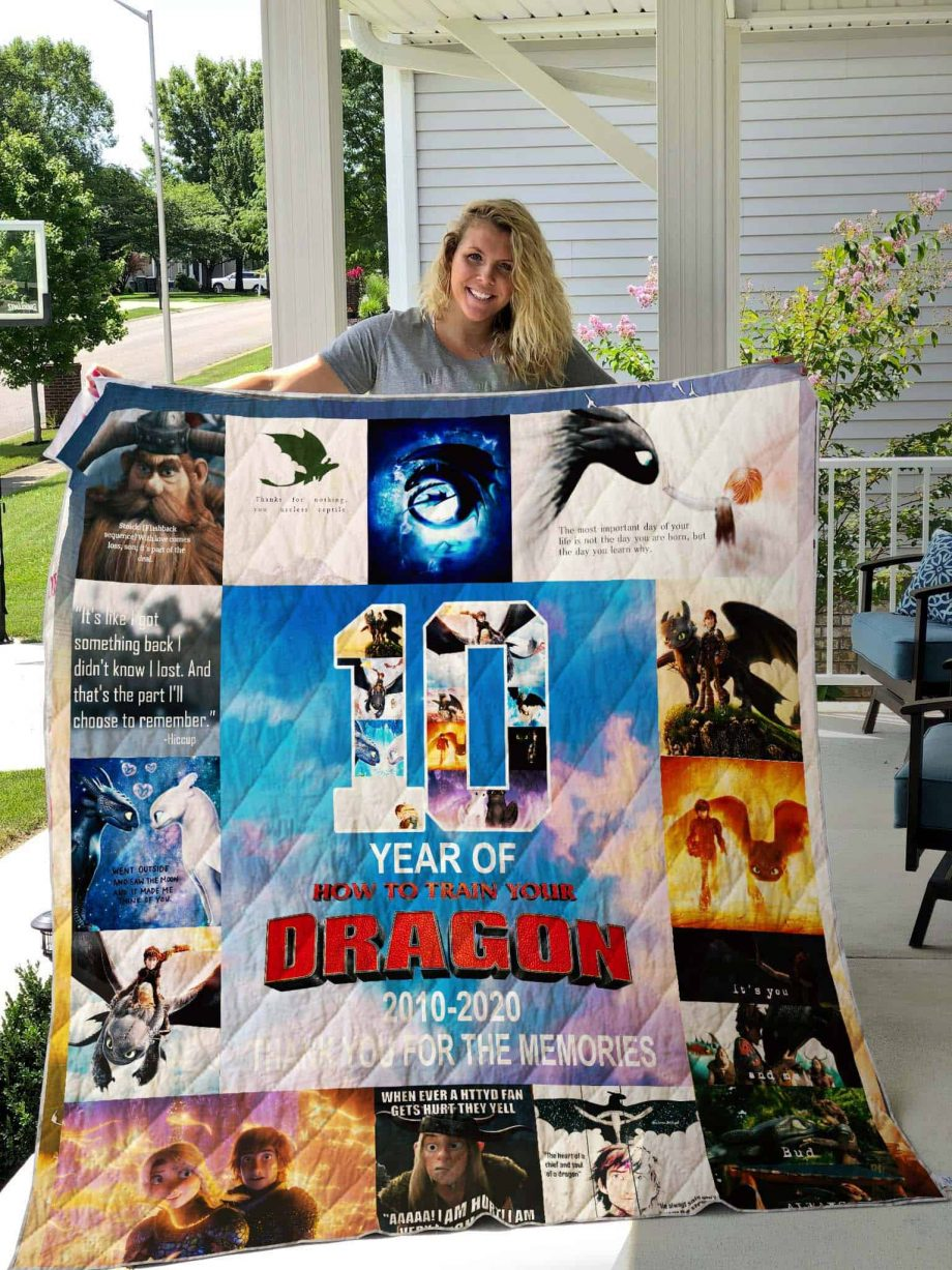 How to Train Your Dragon Quilt