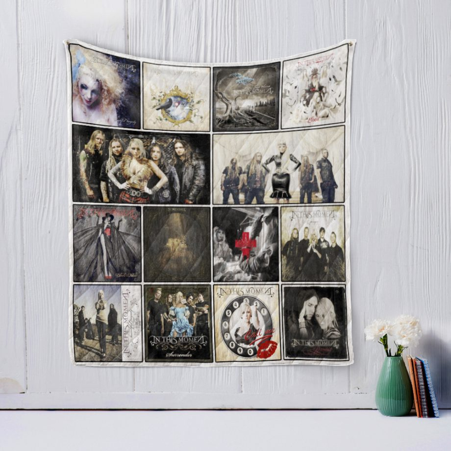 In This Moment Quilt Blanket