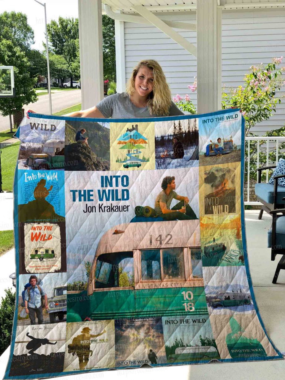 Into the wild Quilt Blanke 02