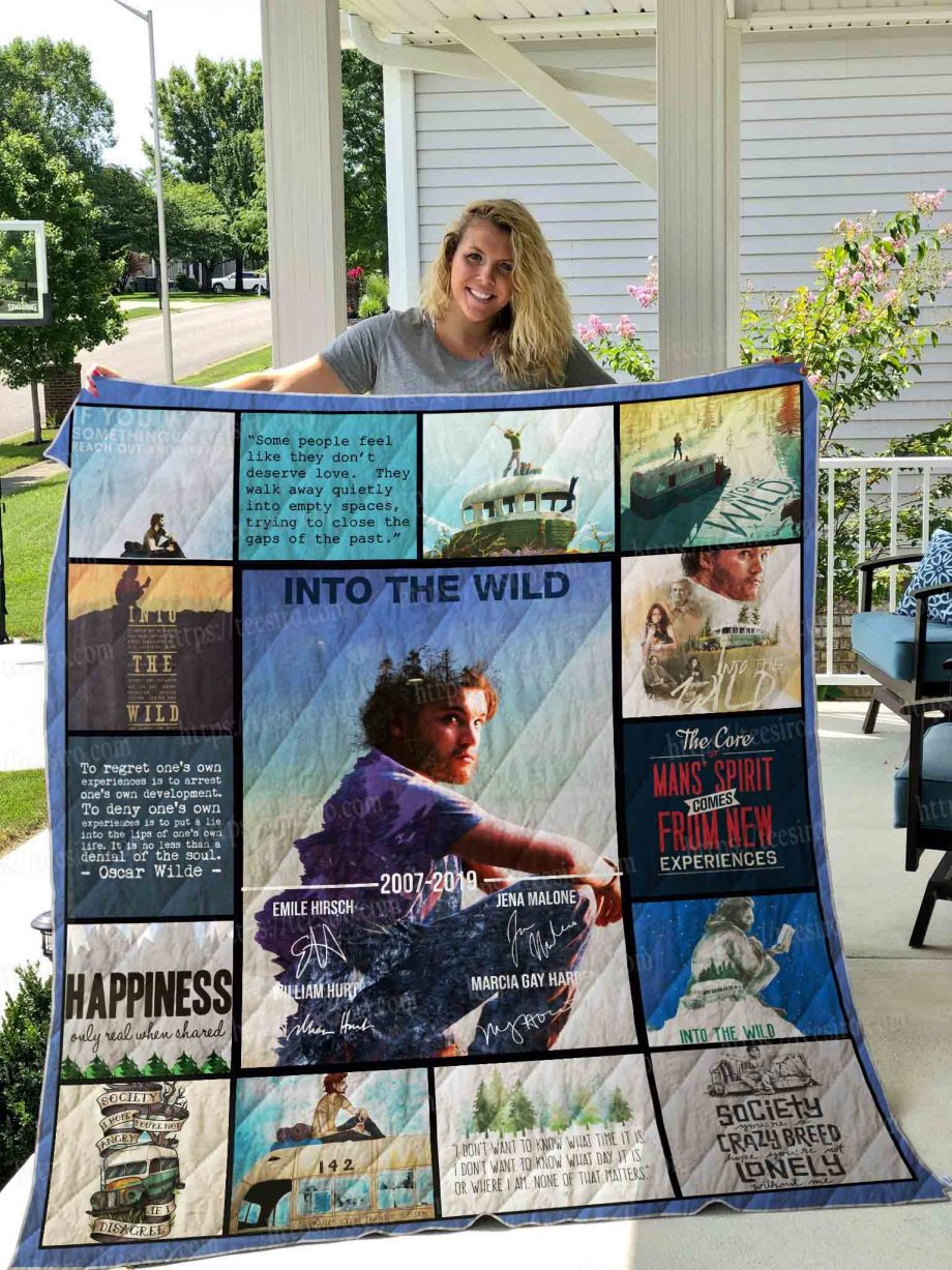 Into the Wild Quilt Blanket 01