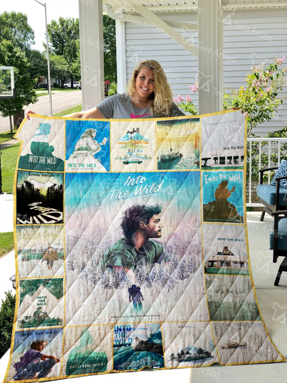 Into the Wild Quilt Blanket 01849
