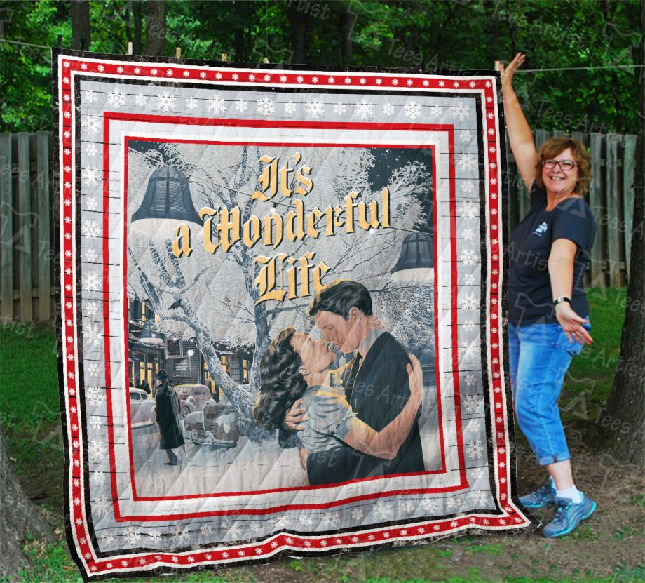 It#8217s A Wonderful Life Quilt Blanket 01972