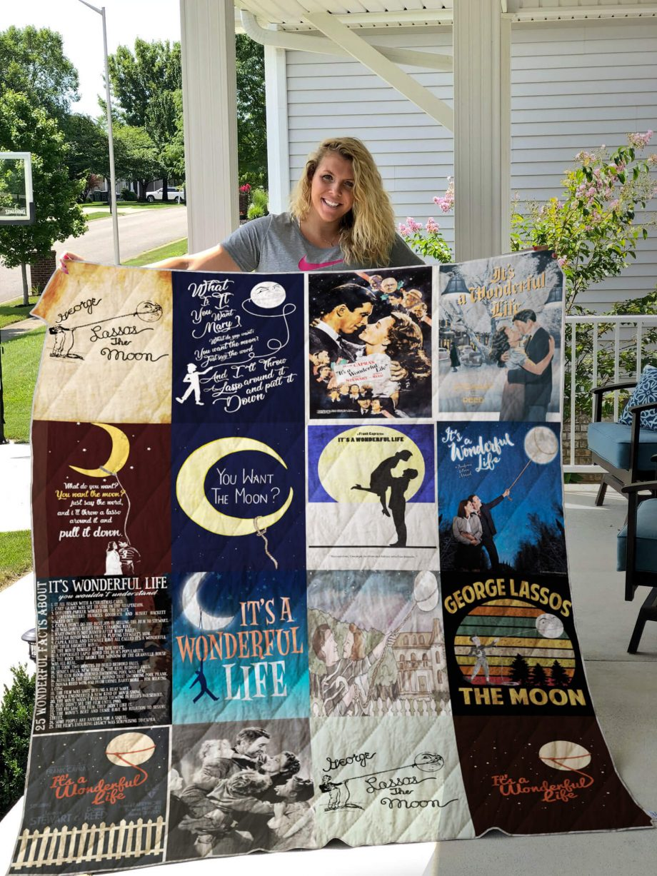 It's a Wonderful Life Quilt Blanket 0548