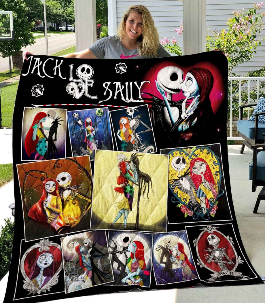 Jack And Sally Quilt 1809