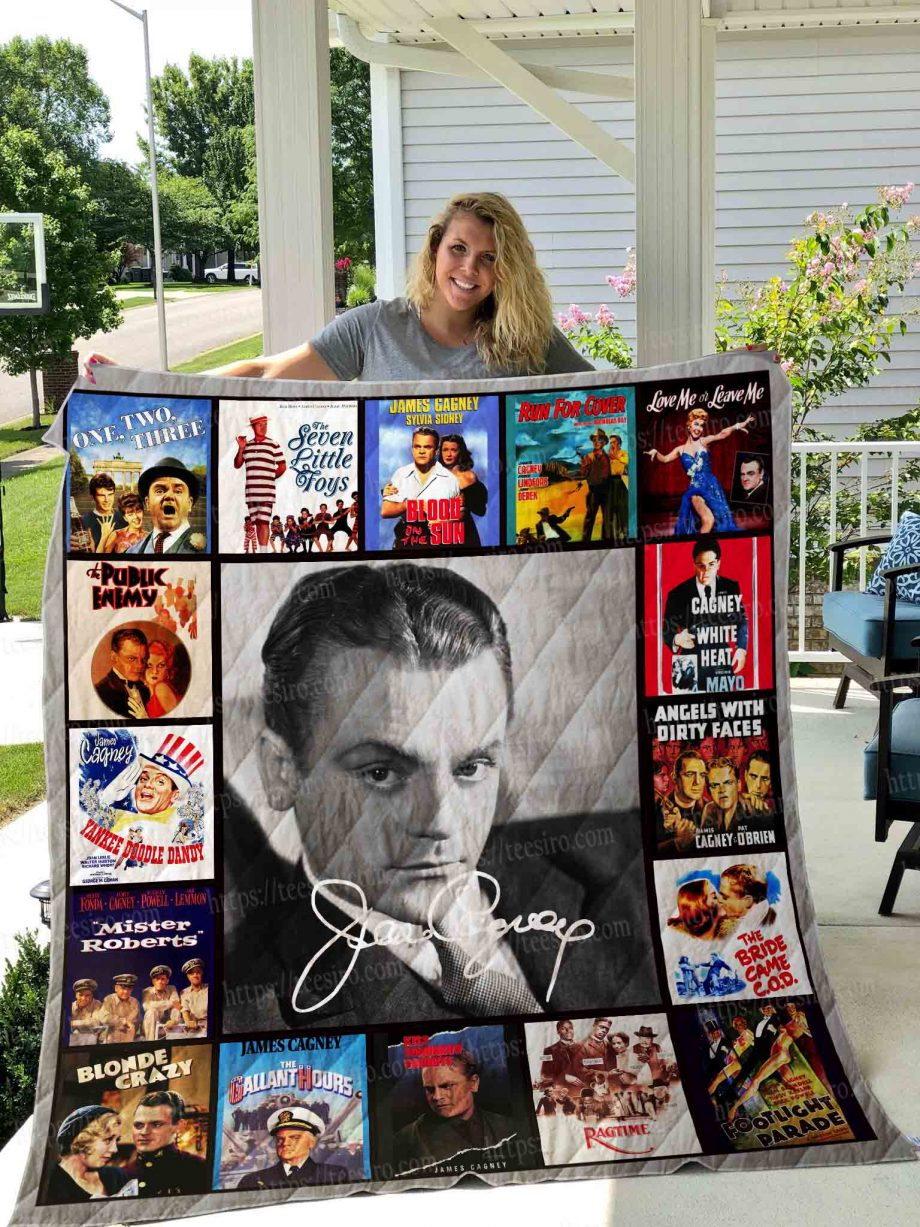 James Cagney Quilt Blanket 02
