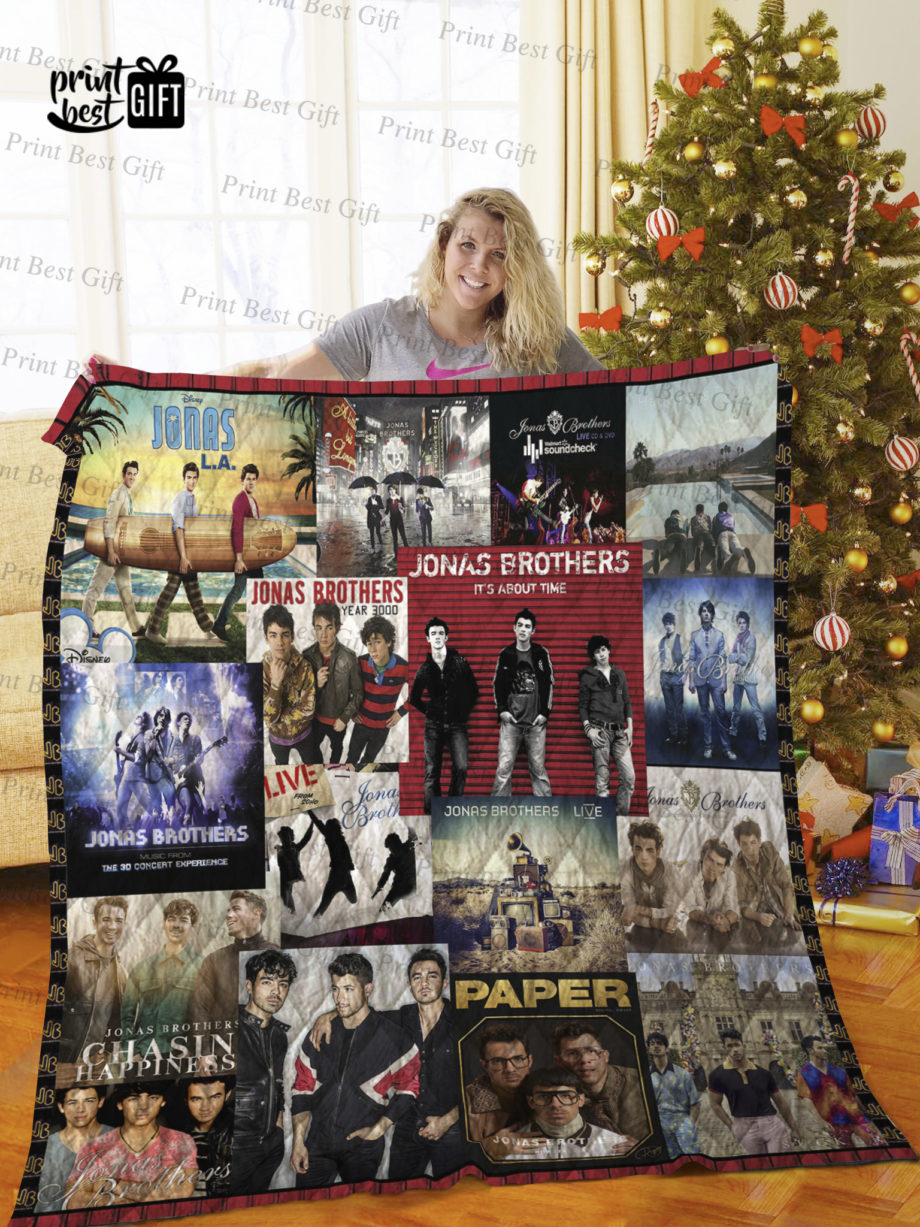 Jonas Brothers Albums Cover Poster Quilt Ver 3 KP-461