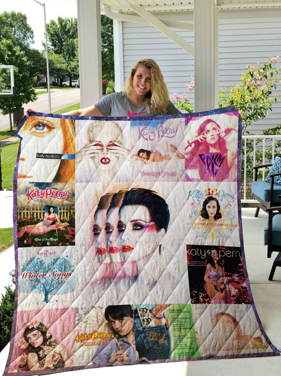 Katy Perry Quilt Blanket