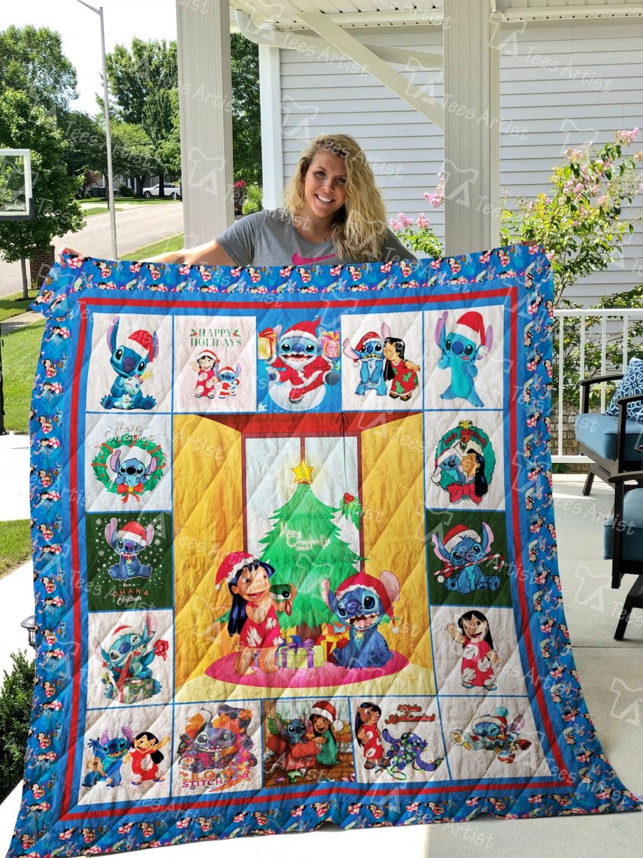 Lilo And Stitch Quilt Blanket 01865