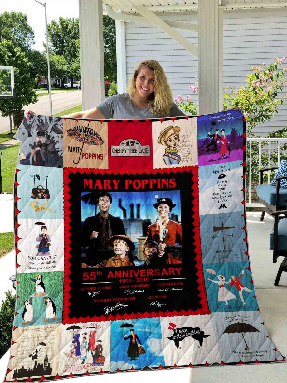 Mary Poppins Quilt Blanket 03