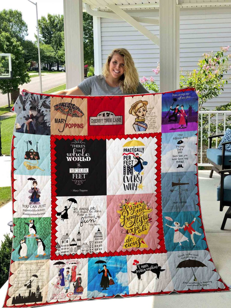 Mary Poppins Quilt Blanket 04