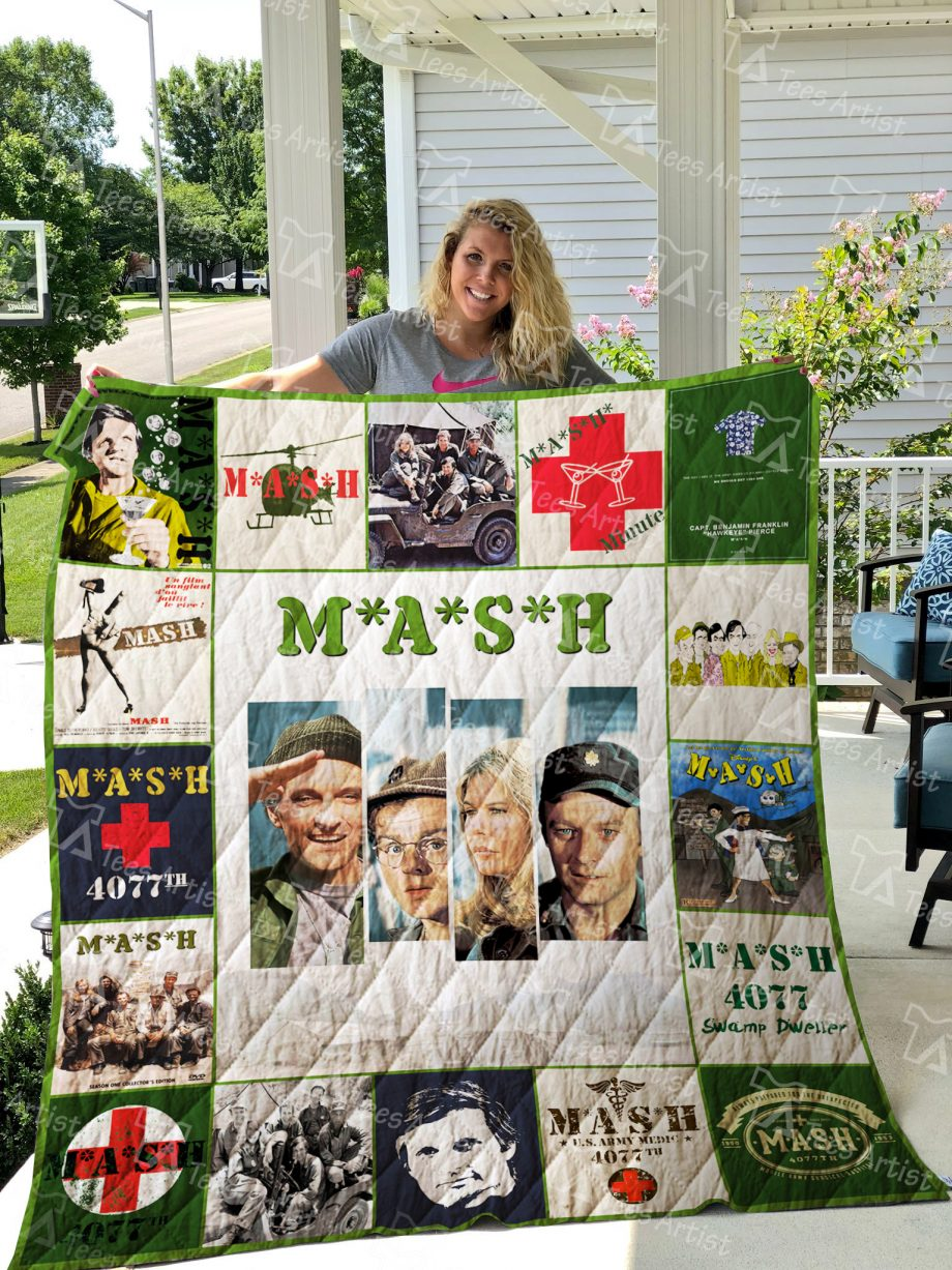 M*A*S*H Quilt Blanket 01948