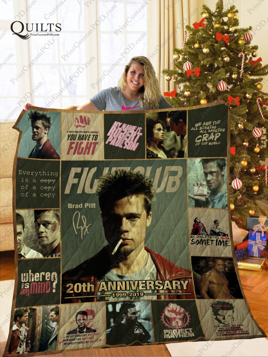 Mofi Fight Club Quilt Blanket Ver 1