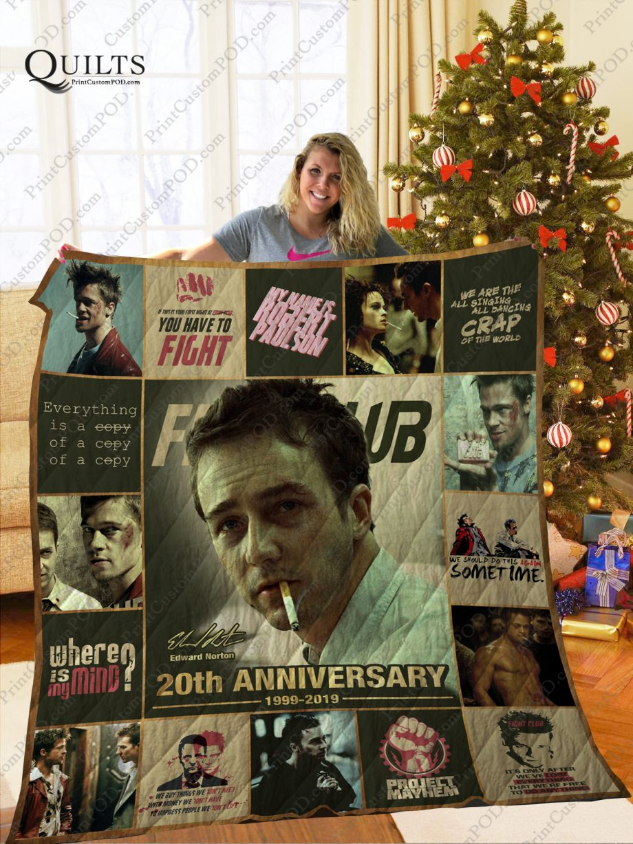 Mofi Fight Club Quilt Blanket Ver 3