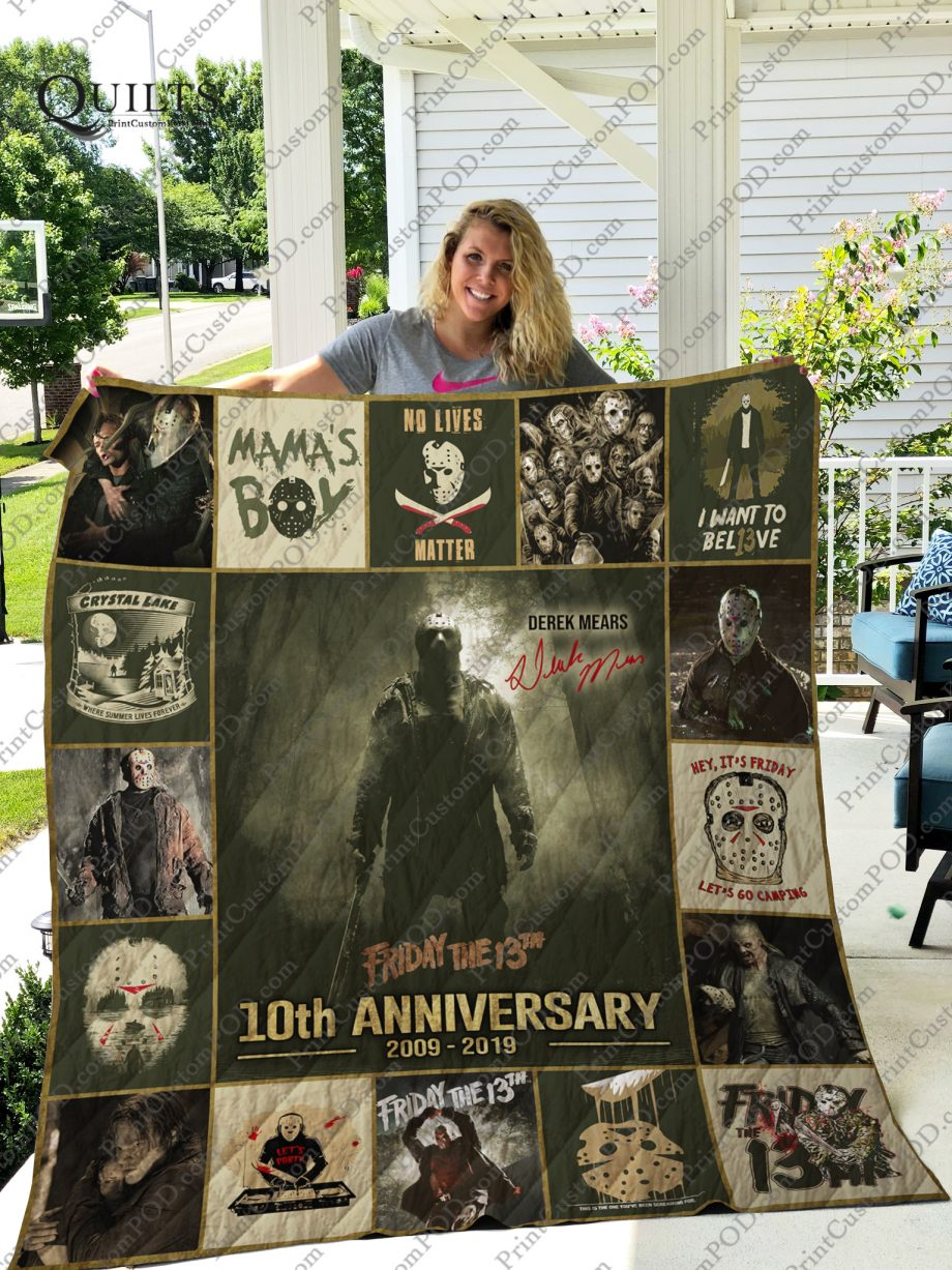 Mofi Friday The 13th Quilt Blanket Ver 17