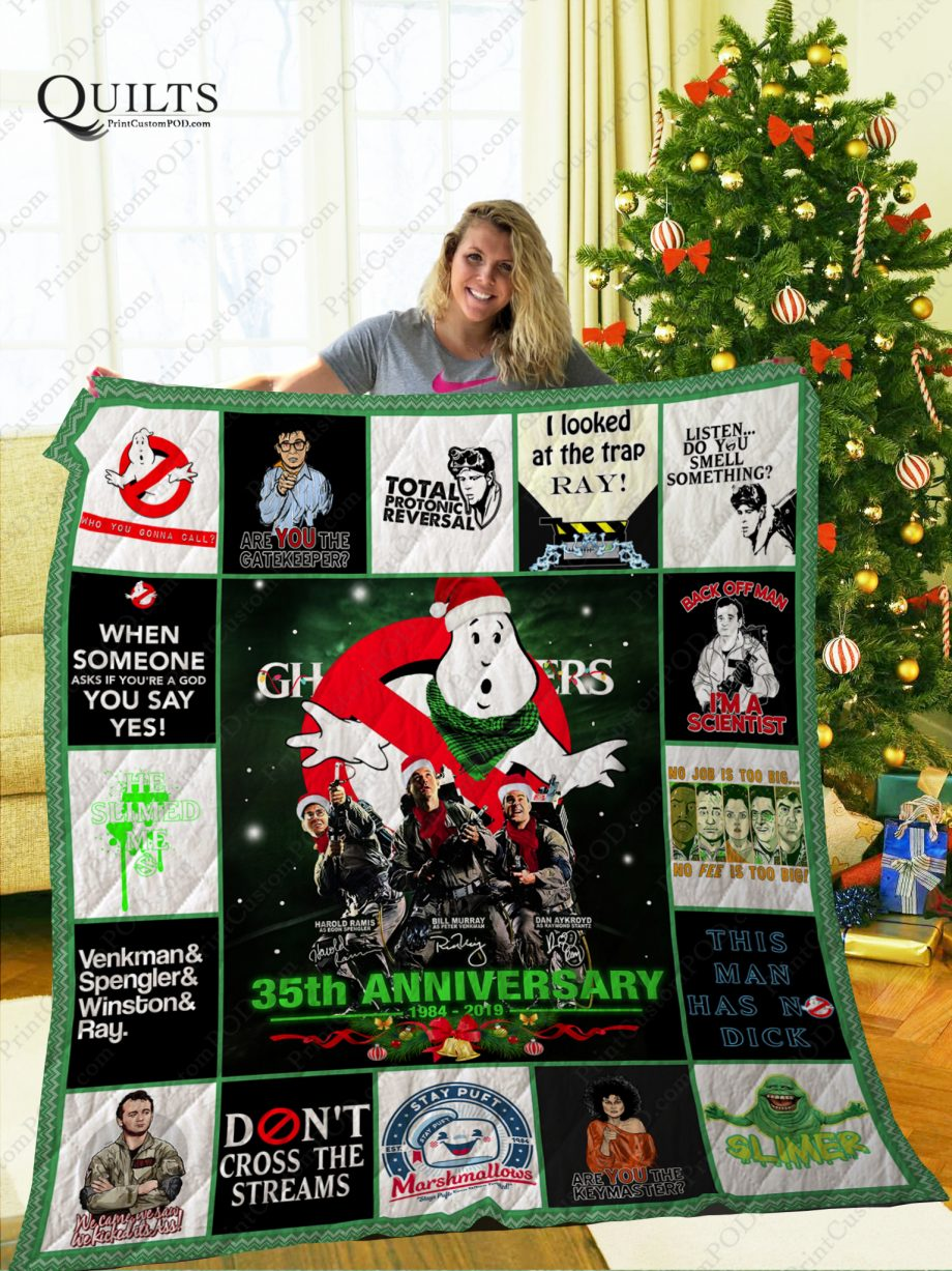 Mofi Ghostbusters Quilt Blanket