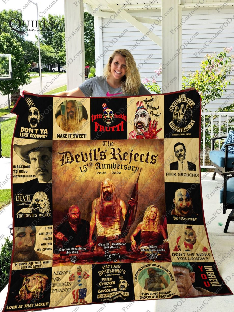 Mofi The Devil#8217s Reject 15th Anniversary Quilt Blanket For Fans Ver 17