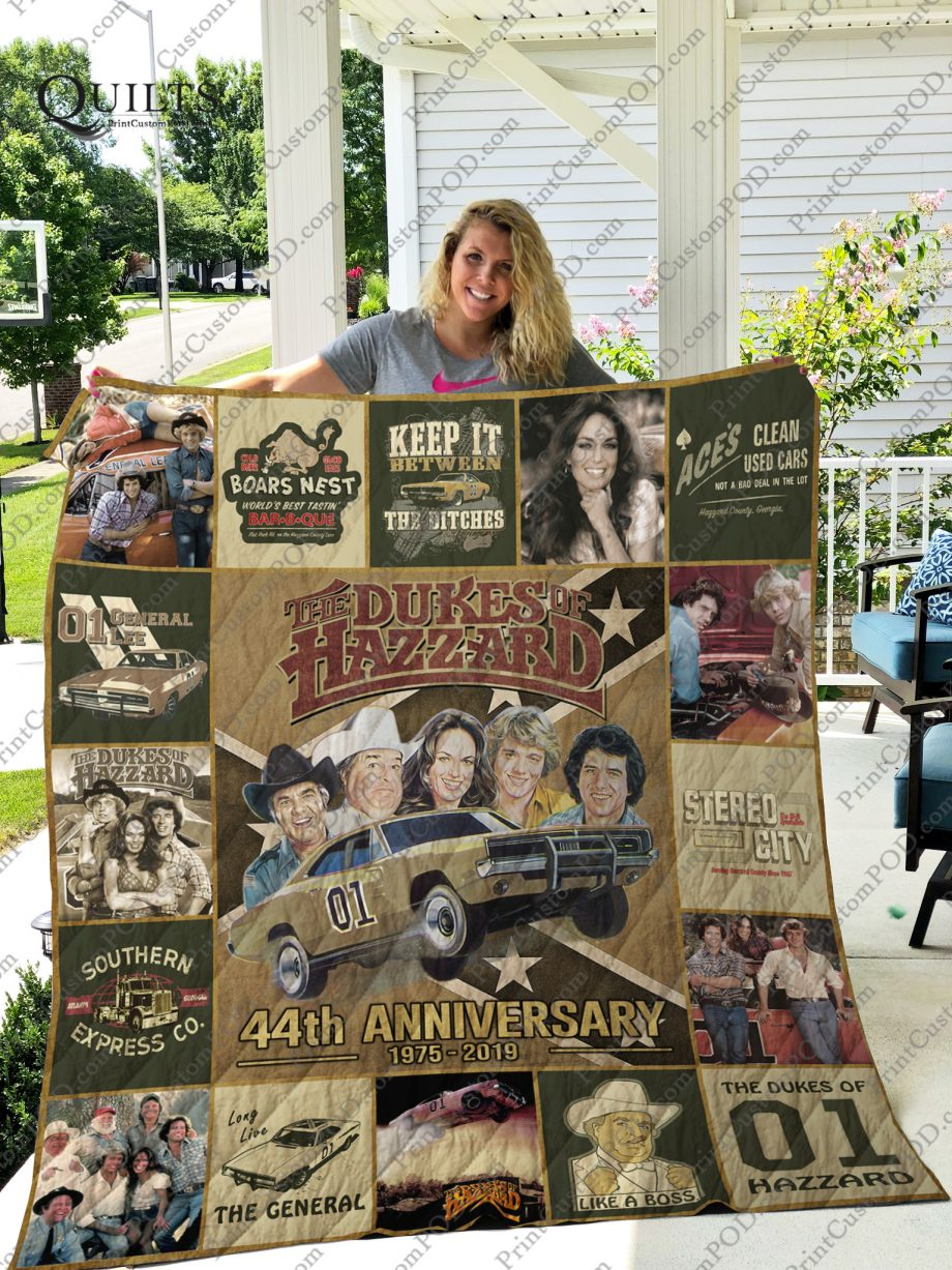 Mofi The Duke of Hazzard Quilt Blanket For Fans Ver 172
