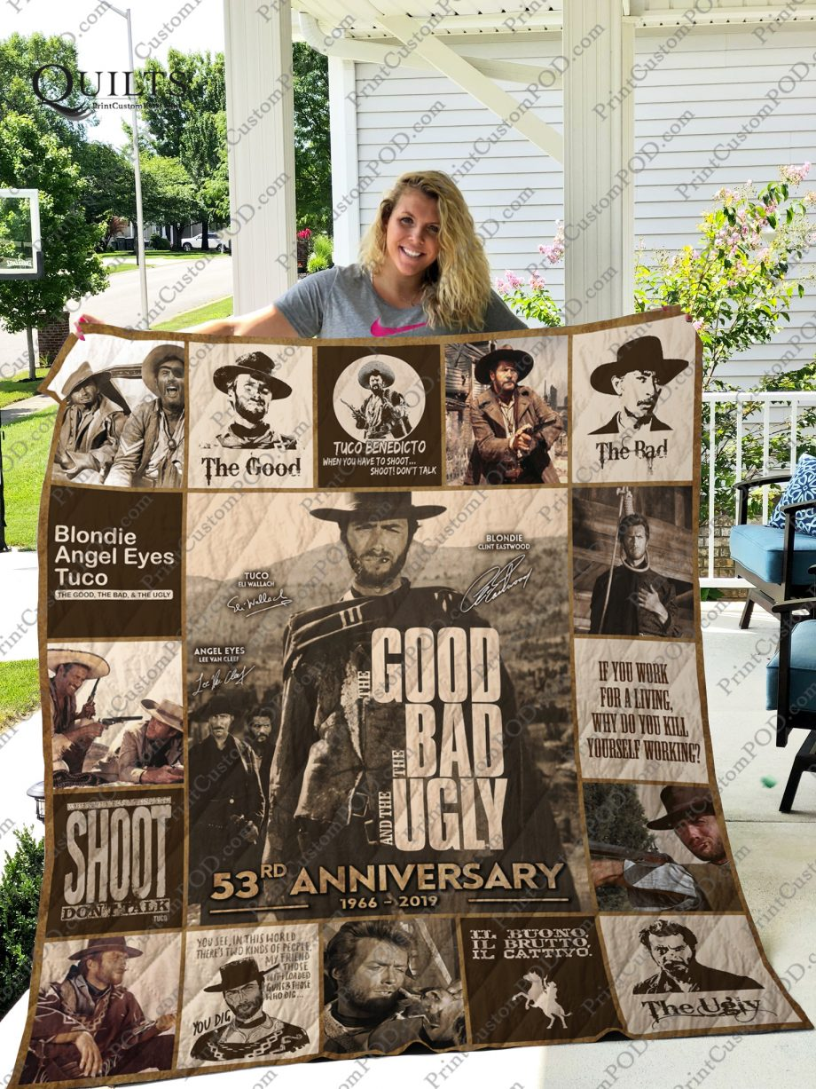 Mofi The Good, The Bad amp The Ugly Quilt Blanket For Fans Ver 17