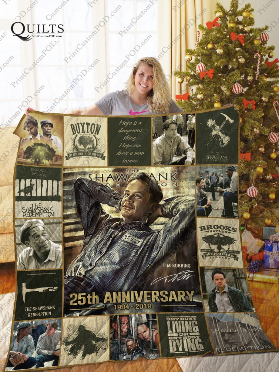 Mofi The Shawshank Redemption Quilt Blanket Ver 1