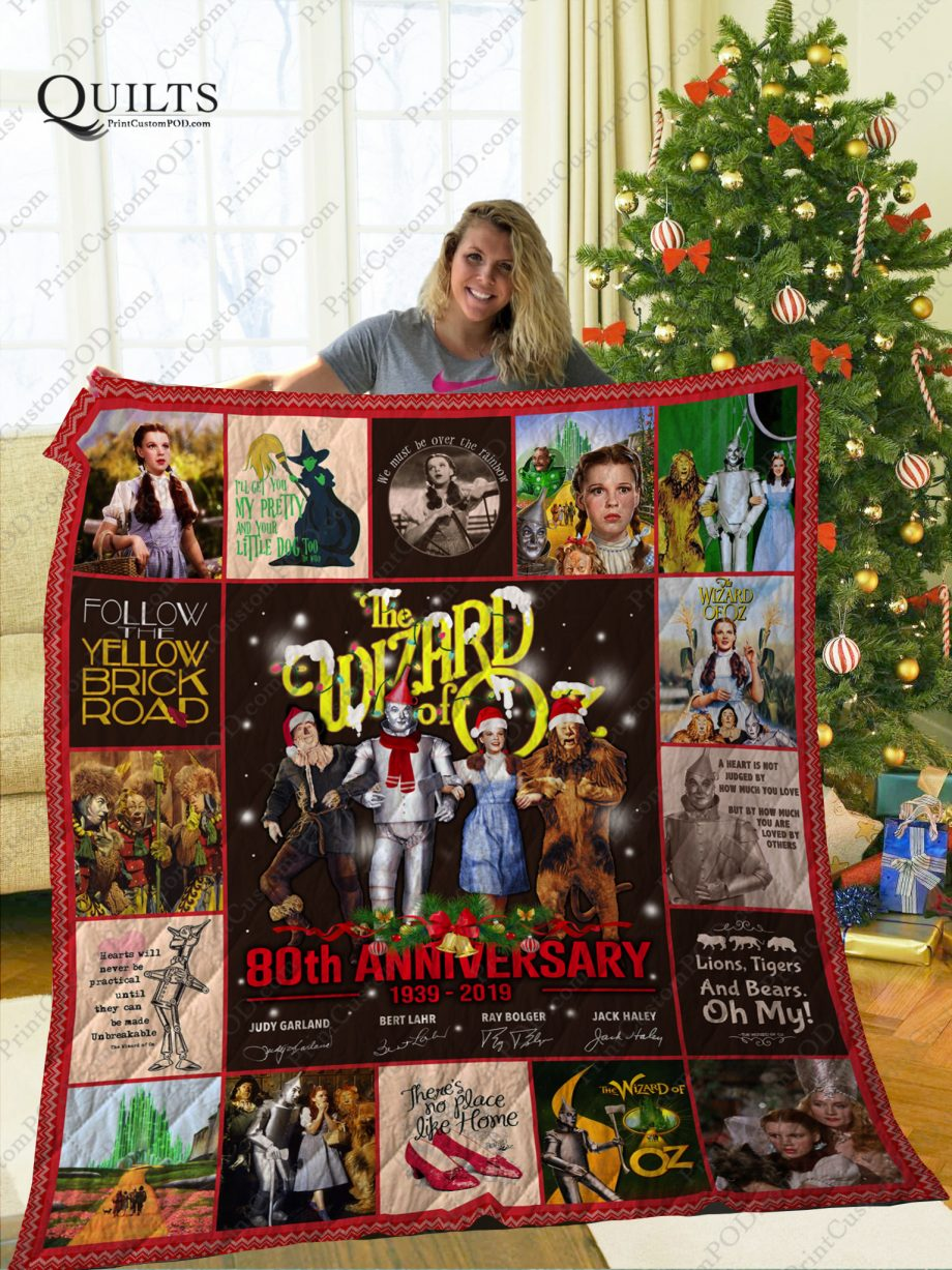 Mofi The Wizard of Oz Quilt Blanket