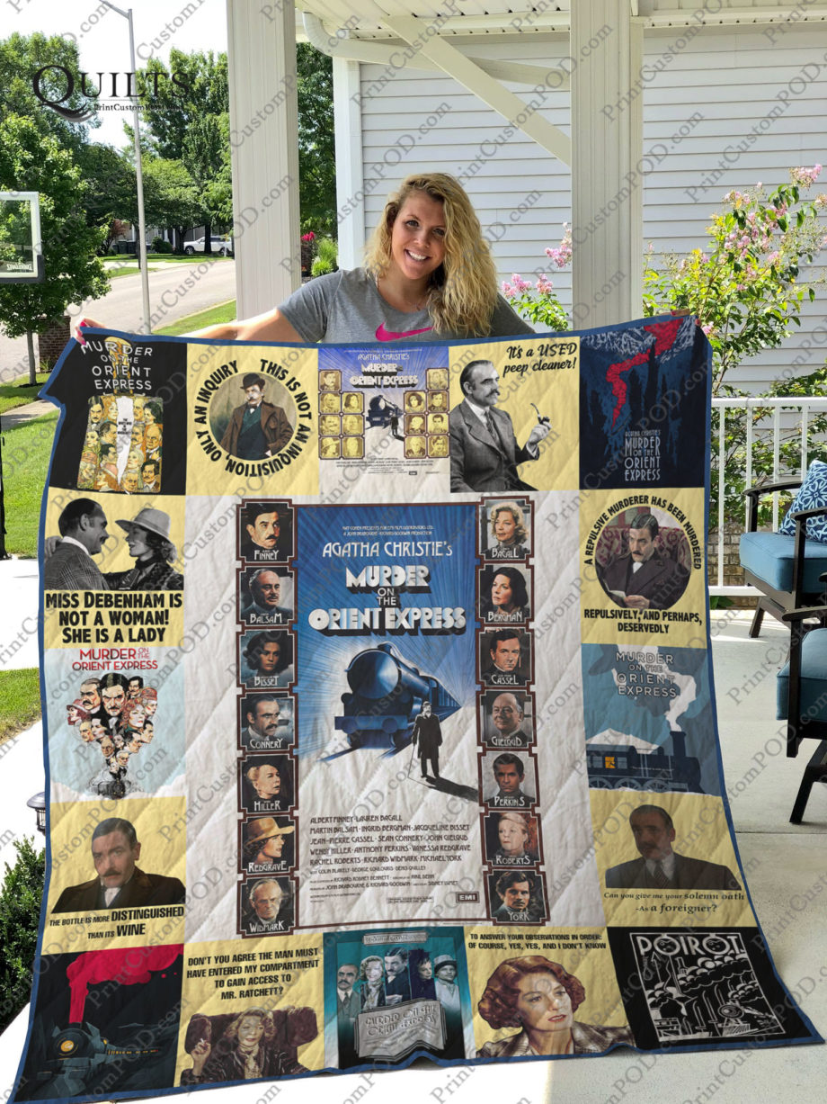 Murder on the Orient Express Quilt For Fans